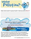 Worksheets Water Pollution Worksheet rfc activities for kids use this worksheet to inventory your familys usage and learn about a farmers water needs